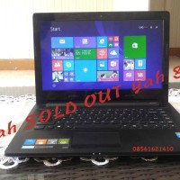 Lenovo g40-70 Core i3 Haswell Harddisk 500gb 14inch Murmer Gan MULUS