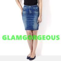Shape Skirt jeans / Denim Shape Skirt / Rok Mini Jeans seksi