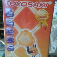 Antenna / Antena TV Toyosaki Baru dgn Booster bs indoor / outdoor