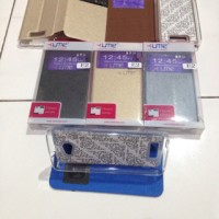 Flip Cover UME Classic Andromax E2 Smartfren Leather Case / Sarung HP