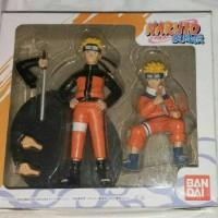 Action Figure Naruto SHF Original BanDai Isi 2 Pc Sasuke