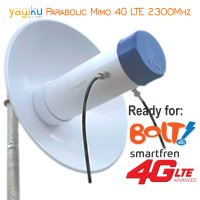 Antena Modem Parabolic YAGIKU untuk BOLT SUPER 4G/LTE