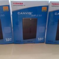 harga HARDDISK EXTERNAL TOSHIBA CANVIO SIMPLE 1TB Tokopedia.com