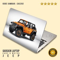 harga Garskin/Skin/Cover/Stiker/Sticker Laptop Protector-Ca Cab Jeep Car 1 Tokopedia.com