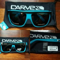 Kacamata Carve Rocker Blue Tosca Original (Glasses + Softcase)