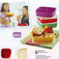 Jual Tupperware Lolly Tup Tempat Makan Keluarga Bekal Anak Aneka Warna Murah