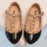 Sepatu Anak Murah Valentino Stud shoes - Black