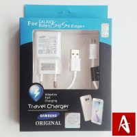 CHARGER CASAN CAS SAMSUNG TRAVEL ADAPTER SAMSUNG NOTE 4 5 S6 edge ORI
