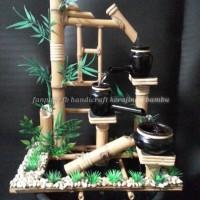 harga Kerajinan Air Mancur Bambu Tik Tok Tokopedia.com