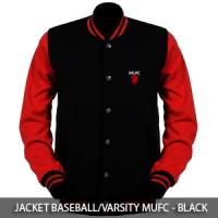 Jaket Baseball MUFC Manchester United - Black