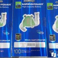 Galaxy Young S5360 1600mAh Battery / Baterai Hippo Double Power Samsung