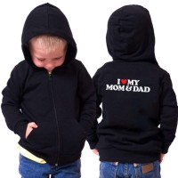 Jaket Sweetr Anak I Love Moom & Dad