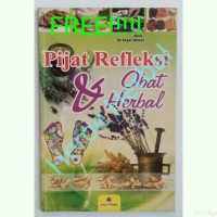 Termurah!!!!Buku Pijat Refleksi, Obat Herbal, Titik Akupuntur