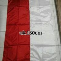 Jual Bendera Merah Putih ukuran 180cm Murah