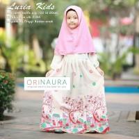 harga Gamis Ori Naura Luxia Kids (Pink Dress-Jilbab) Tokopedia.com