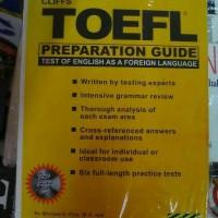 toefl cliffs. preparation guide