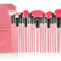 Make up for you set brush 24 set pink