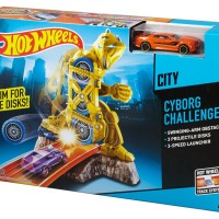 harga Hot Wheels Cyborg Challenge Track Set Tokopedia.com