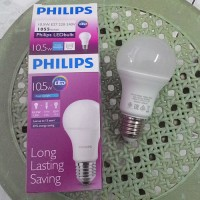 LED Philips 10.5 Watt (1055 Lumens, Putih / Cool Daylight)