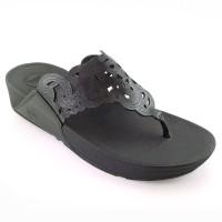 Fitflop Sandal Flora - Hitam