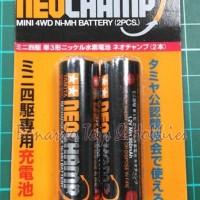 Tamiya #15420 - Neochamp Mini 4WD Ni-Mh Battery (2pcs)