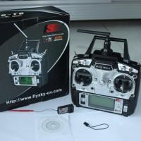 Remot Rc Fs-T6-Rb6 2.4ghz Trasmitter 6ch Radio Mode 2