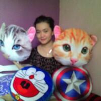 Jual boneka bantal kucing Murah