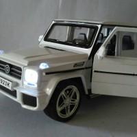 harga Diecast jeep mercedes benz putih 1/24 Tokopedia.com