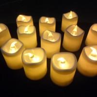 harga lampu lilin led elektrik ( lampu hias, tidur, romantis ) Tokopedia.com