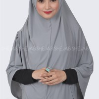 Syria Aisyah Shejab / Hijab Syar'i / Hijab Praktis / Hijab Simple