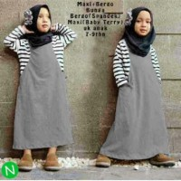 MAXI KID / baju muslim anak murah + bergo