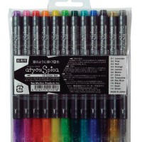 atYou Spica Glitter Pen Set 12 - Ref.SGP99