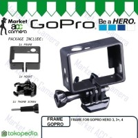 Standard Side Frame Mount Buckle (Hard Case) for GoPro Hero 3 / 3+ / 4
