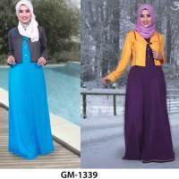 Jual Gamis Pesta Modern, Baju Gamis Murah Terbaru, Busana Muslim Murah Murah