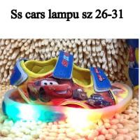 harga SEPATU ANAK, Sepatu sendal cars Lampu Tokopedia.com