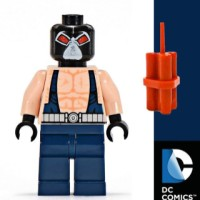 Lego Minifigure Bane (7787)