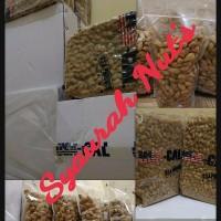 Jual Kacang Almond Roasted (Panggang) USA California Inshell 500gram Murah