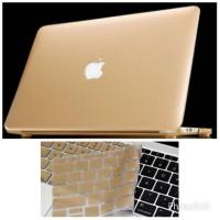 "Mac RETINA 15"" Hard Case & Keyboard GOLD Macbook Pro 15"""