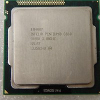 processor dual core G860 + fan ori 1155