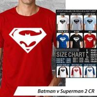 harga KAOS Batman v Superman 2 CR Tokopedia.com
