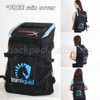 Tas Gaming Sekolah Dota 2 Backpack Ultimate Team Liquid Bag