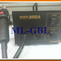 harga (BLOWER) QUICK 850A ANALOG / HOT AIR / SOLDER UAP/ALAT SERVICE Tokopedia.com