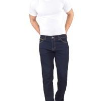 Celana Pria / Hitam / S-M-L-XL / Jeans Stretch / INFICLO SLX 517
