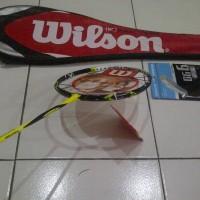 harga Raket Badminton Wilson kfaktor KUNING limited edition  harga grosir Tokopedia.com