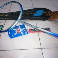 Raket Badminton Yonex Carbonex 8 impor murah + bonus (tas, grip & se