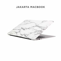 Case Macbook air 11 Inch White Grey Marble