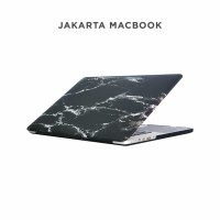 Case Macbook Air 11 Inch Black White Marble