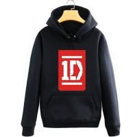 Jaket / Zipper / Hoddie /Sweater One Direction - Hitam