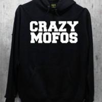 Jaket / Zipper / Hoddie /Sweater One Direction Crazy Mofos
