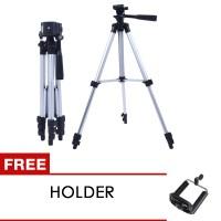 Tripod kamera DSLR - Tripod Kamera Digital - Free Holder - Tripod 3110